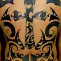 Back Tribal Crux tattoo by Tattoo HM