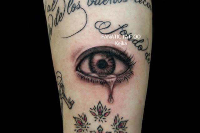 Arm Realistic Eye Tattoo by Tattoo Irezumi