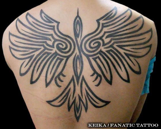 Back Tribal Tattoo by Tattoo Irezumi