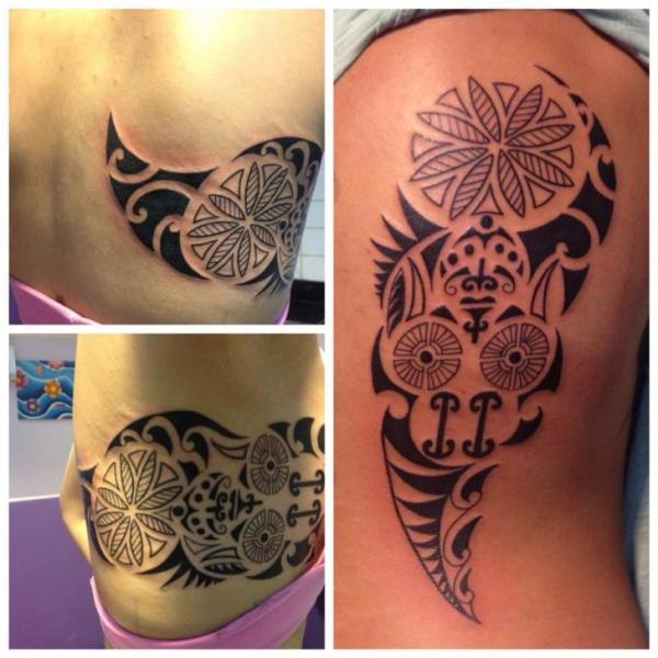 Side Tribal Tattoo by Tattoo Br