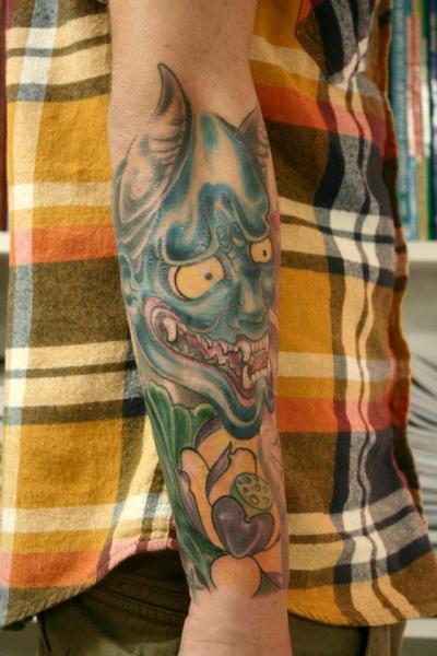 Arm Japanische Drachen Tattoo von Tattoo Loyalty