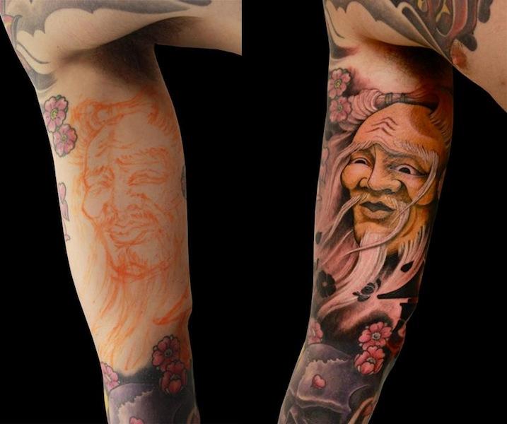 Tatuaje Brazo Japoneses por Nico Tattoo Crew