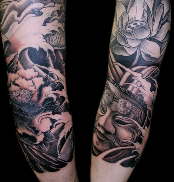 Arm Wave Tattoo by Nico Tattoo Crew