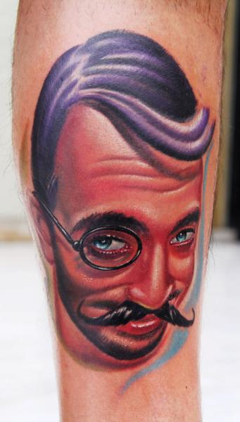 Arm Portrait Realistic Tattoo by Sake Tattoo Crew
