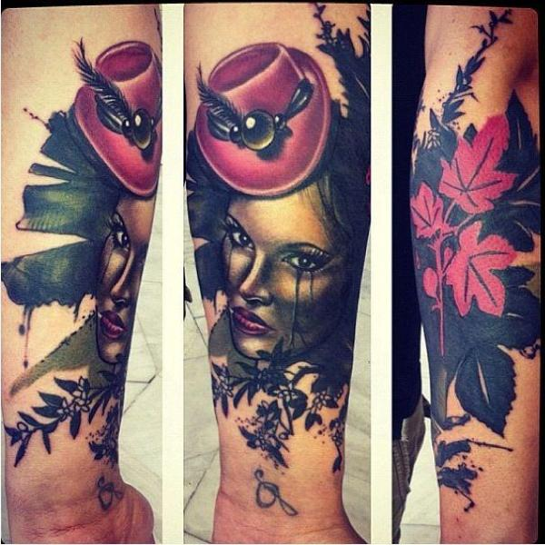 Arm Women Tattoo by Sake Tattoo Crew