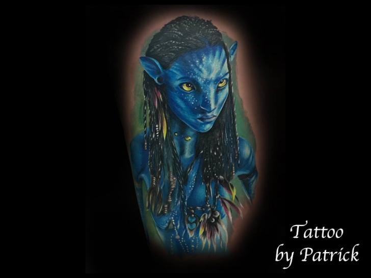 Arm Avatar Tattoo von Baltic Tattoo
