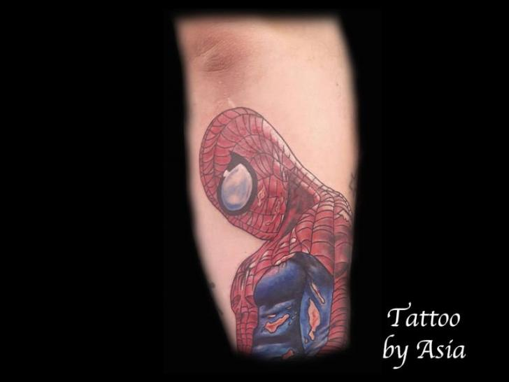 Arm Hero Spiderman Tattoo by Baltic Tattoo