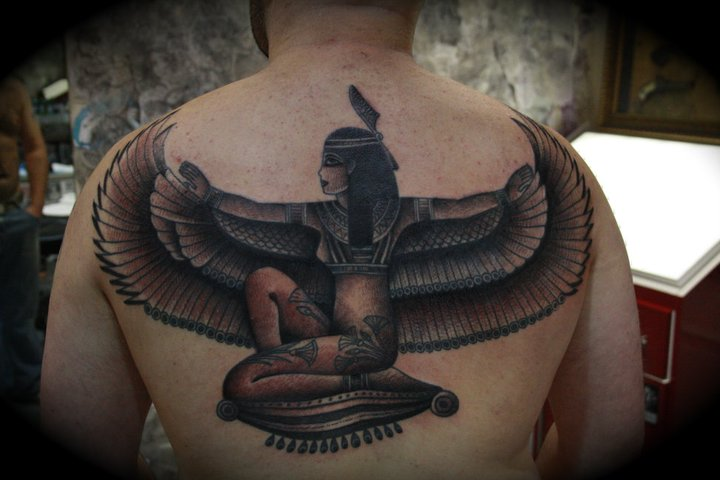 Back Egypt Tattoo by All Star Ink Tattoos