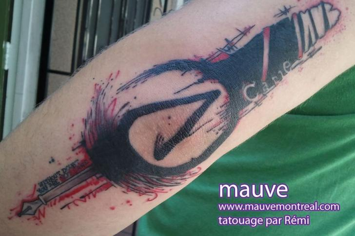 Arm Fantasy Tattoo by Mauve Montreal