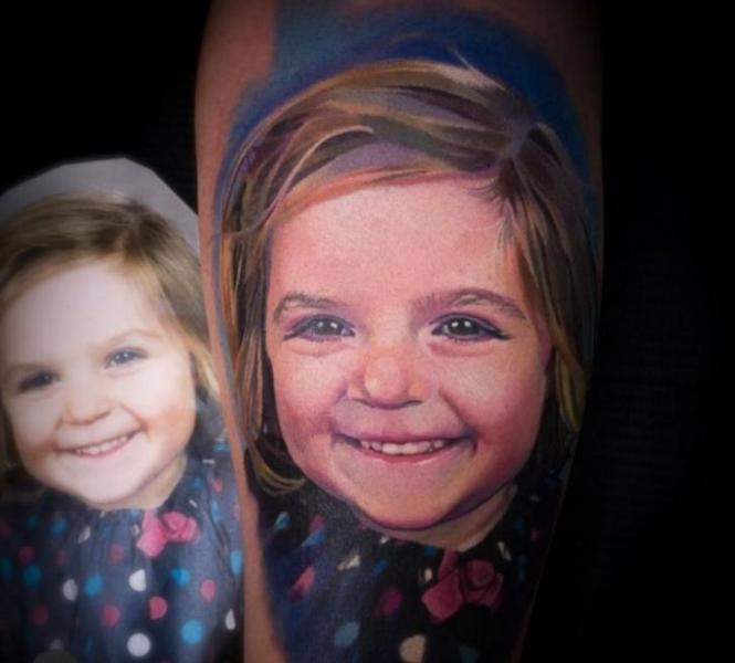 Arm Realistic Tattoo by Bloody Ink