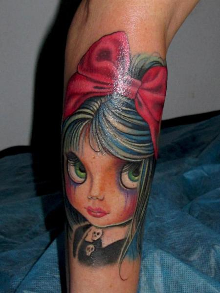 Arm Fantasy Children Tattoo by Blood for Blood Tattoo