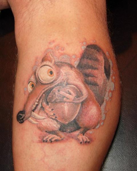Fantasie Charakter Tattoo von Blue Tattoo