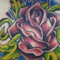 Flower Belly Rose tattoo by Sonic Tattoo
