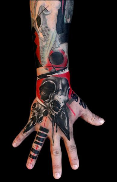 Fantasy Hand Tattoo by Buena Vista Tattoo Club