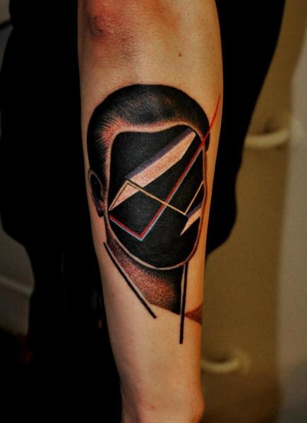 Arm Fantasie Männer Tattoo von Raw Tattoo