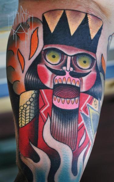 Arm Fantasie Tattoo von Raw Tattoo