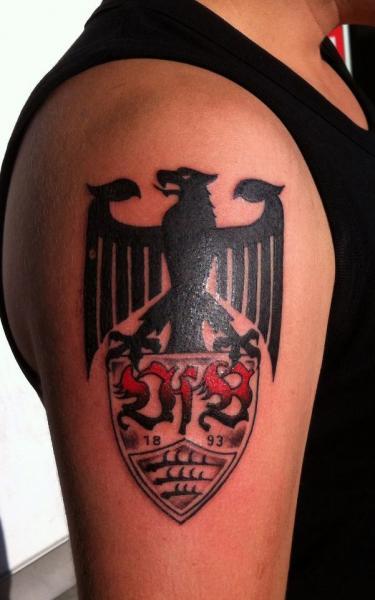 Tatuaje Cactus tatuaje hombro logo por cactus tattoo