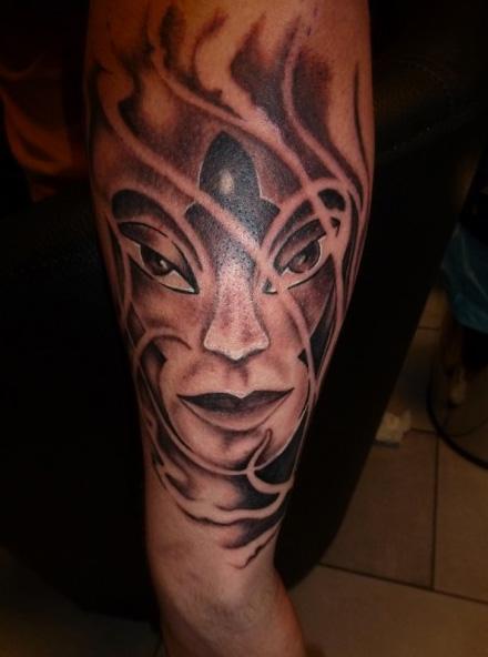 Arm Fantasy Tattoo by Art Line Tattoo