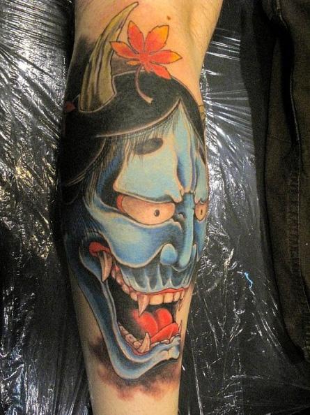 Arm Japanese Tattoo by Art Line Tattoo