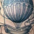 Fantasy Balloon tattoo by Tin Tin Tattoos