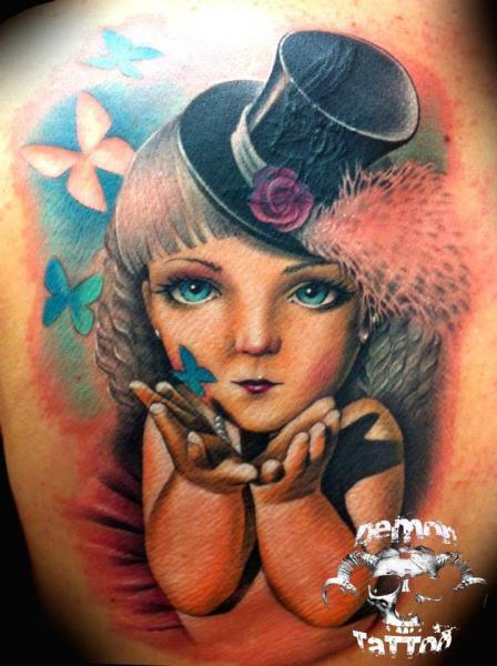 Tatuaje Fantasy Niños por Tatuajes Demon