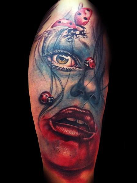 Fantasie Frauen Tattoo von Tatuajes Demon