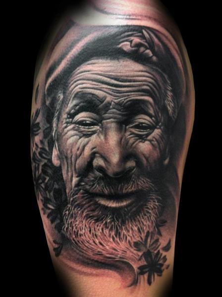 Tatuaggio Spalla Ritratti di Tatuajes Demon