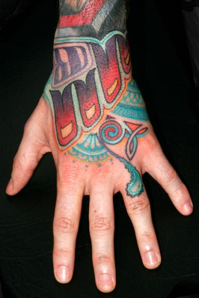 Fantasy Hand Tattoo by Archive Tattoo