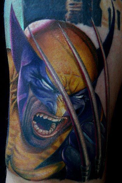 Tatuaje Fantasy Héroe por Corpus Del Ars