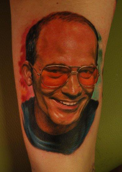 Arm Realistic Tattoo by Negative Karma
