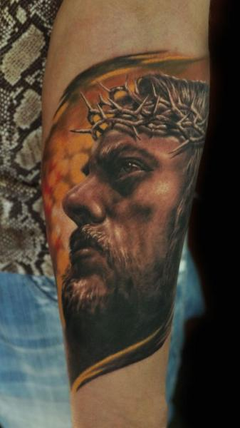 Arm Religiös Tattoo von Negative Karma