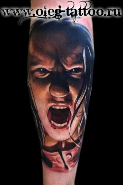 Arm Realistic Tattoo by Oleg Tattoo