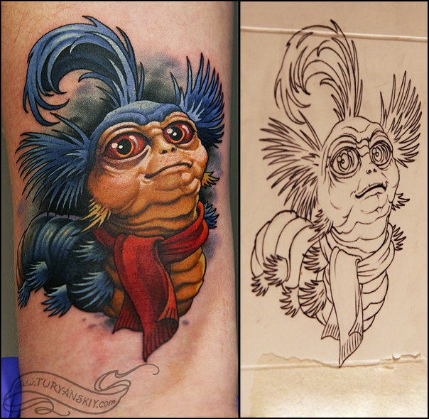 Tatuaggio Fantasy Personaggi di Oleg Turyanskiy