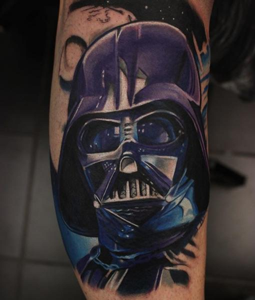 Arm Star Wars Tattoo by Nemesis Tattoo