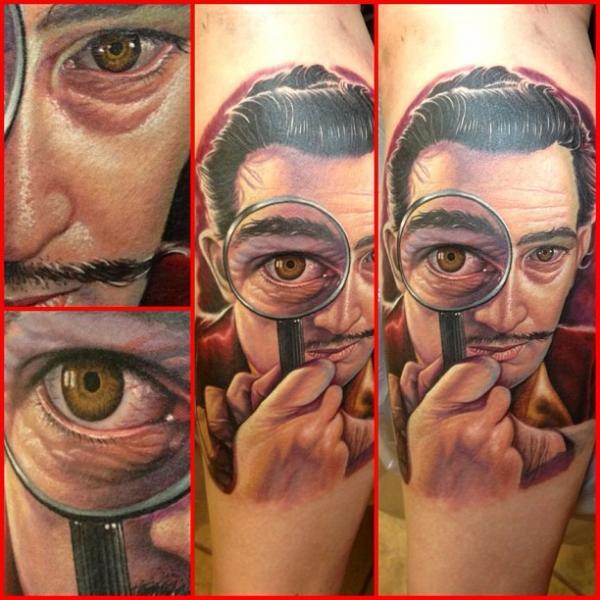 Tatuaje Retrato Realista por Steve Wimmer