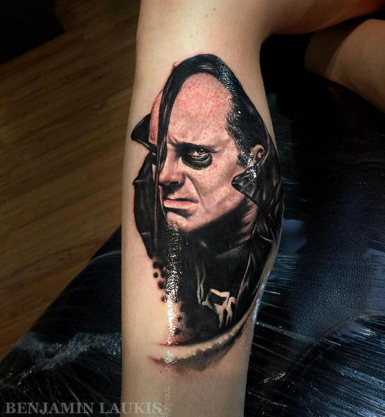 Realistic Calf Tattoo by Pure Vision Tattoo