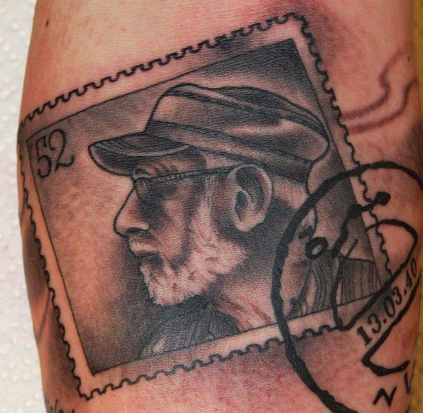 Arm Stempel Tattoo von Seven Devils