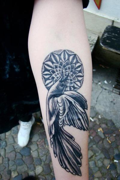 Dotwork Bird Tattoo by Seven Devils