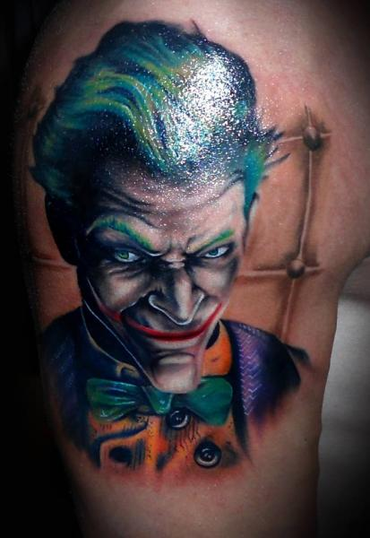 Arm Joker Tattoo von 2nd Face