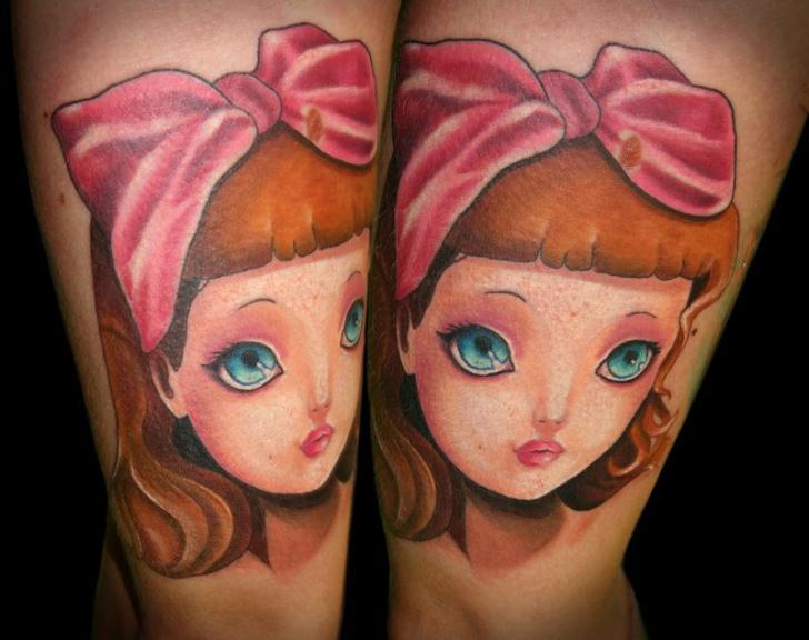 Arm Fantasie Kinder Tattoo von SW Tattoo