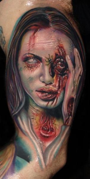Arm Fantasie Frauen Tattoo von Artistic Element Ink