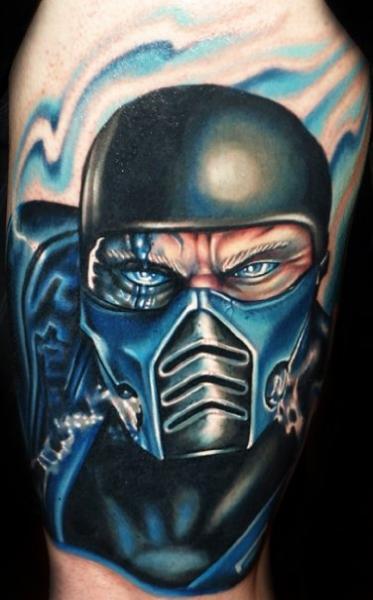 Tatuaggio Fantasy Guerriero di Artistic Element Ink