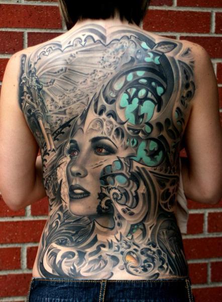 Für frauen rücken tattoos Maori Tattoo
