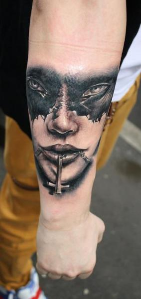 Arm Fantasy Tattoo by Bio Art Tattoo