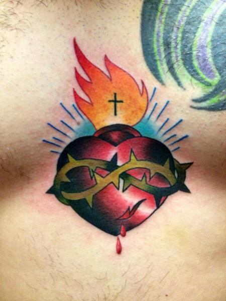 Tatuaggio Cuore di Requiem Body Art
