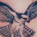Rücken Adler tattoo von David Hale