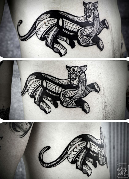 Panther Tattoo by David Hale
