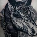 Side Horse tattoo by David Hale