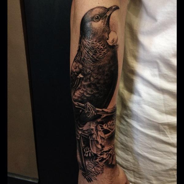 Arm Bird Tattoo by Allen Tattoo