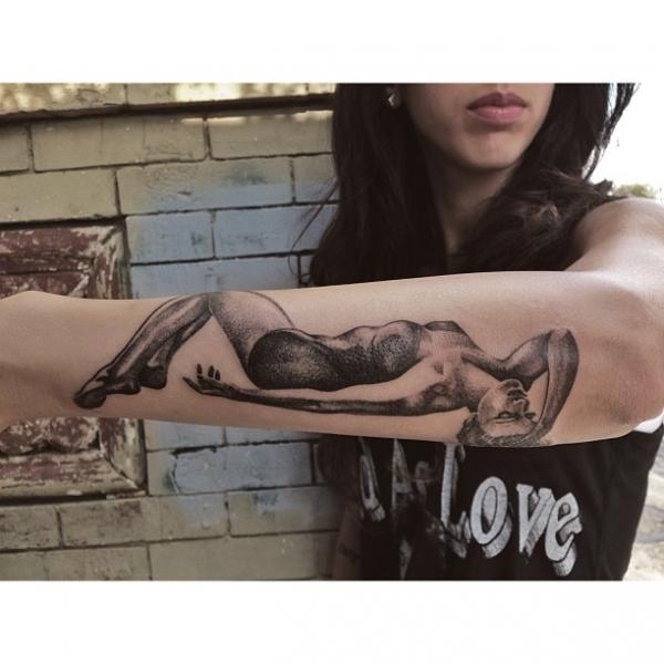Arm Women Tattoo by Allen Tattoo